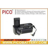 Battery Grip for Canon EOS Rebel T3 / 1100D/ Kiss X50 and EOS Rebel T5 / 1200D Cameras BY PICO