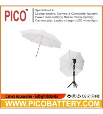 "33"" Inch White Photography Light Photo Studio Video Translucent Soft Umbrella BY PICO"