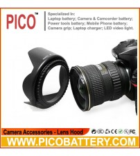 49mm 52mm 58mm 62mm 67mm 72mm 77mm 82mm Universal Lens Hood For Camera BY PICO