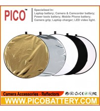 Photography 5-in-1 collapsible Multi Oval disc Light reflector 110cm BY PICO