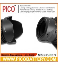 52MM Reversible Petal Flower Lens Hood for Nikon D7000 D5200 D5100 D3200 D3100 BY PICO