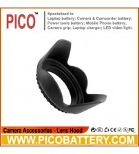 52mm Tulip Flower Lens Hood For Nikon D3100 D5100 D5000 18-55mm 55-200mm VR 50m BY PICO