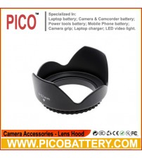 55 mm 55mm 58mm Flower/Petal Shape Screw Mount Lens Hood BY PICO