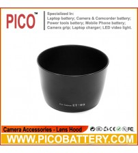 58MM ET-60 Lens Hood for Canon T3i T2i T1i T3 XTi XT XSi EF-S 55-250mm 75-300mm BY PICO