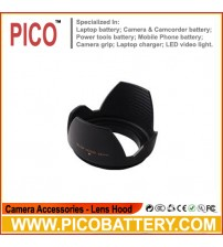 58mm Flower Lens Hood for Canon 700D 650D 600D 550D 100D 1100D 18-55mm 55-250mm BY PICO