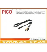 AVC-DC400 Replacement Audio/Video AV Cable for Canon Digital Cameras BY PICO