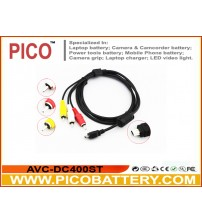 AVC-DC400ST Replacement Audio/Video AV Cable for Canon Digital Cameras BY PICO