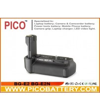 Canon BG-E2 BG-E2N Equivalent Battery Grip for EOS 20D 30D 40D 50D Digital SLR Cameras with Battery Manazines BY PICO