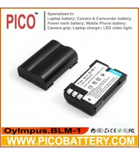 Olympus BLM1 / BLM-1 / BLM-01 Li-Ion Rechargeable Battery for Olympus Digital Cameras BY PICO