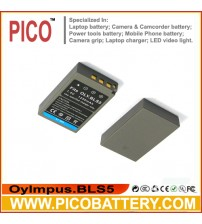 Olympus BLS5 BLS-5 Battery for Olympus PEN E-PL2, E-PL5, E-PM2, OM-D E-M10, and Stylus 1 Cameras BY PICO