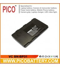 VC BN-BP31 BN-V5GU BN-V6GU BN-V7GU BN-V8GU NB-P5U NB-P6U NB-P7U NB-P8U Ni-Cd Rechargeable Camcorder Battery BY PICO
