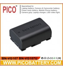 New BN-VG107 BN-VG107U BN-VG107USM BN-VG108U Li-Ion DATA Rechargeable Battery for JVC Everio Camcorders BY PICO