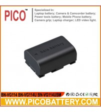 New BN-VG114 BN-VG114U BN-VG114USM Li-Ion DATA Rechargeable Battery for JVC Everio Camcorders BY PICO