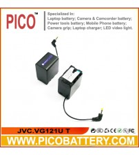 New BN-VG121 BN-VG121U BN-VG121USM Li-Ion DATA Rechargeable Battery for JVC Everio Camcorders BY PICO