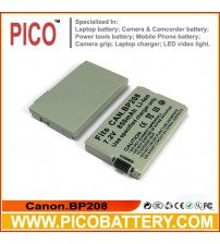 Canon BP-208 Li-Ion Rechargeable Camcorder Battery BY PICO