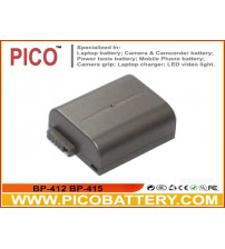 Canon BP-412 BP-415 Li-Ion Rechargeable Camcorder Battery BY PICO