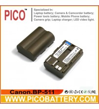 Canon BP-511A Li-Ion Rechargeable Digital Camera / Camcorder Battery BY PICO