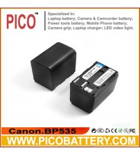 Canon BP-535 Li-Ion Rechargeable Digital Camera / Camcorder Battery BY PICO