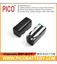 Canon BP-617 Li-Ion Rechargeable Camcorder Battery BY PICO