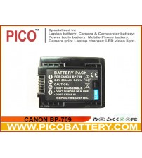 CANON BP-709 Li-Ion Rechargeable Battery for Select Canon VIXIA Camcorders BY PICO