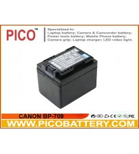 CANON BP-727 Intelligent Li-Ion Rechargeable Battery for Canon VIXIA Camcorders BY PICO