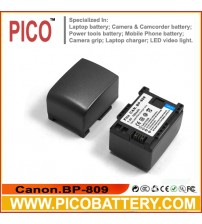 Canon BP809 Replacement Li-Ion Rechargeable Camcorder Battery BY PICO