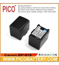 Canon BP819 Intelligent Replacement Li-Ion Rechargeable Camcorder Battery BY PICO
