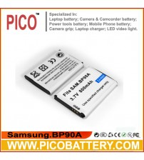Samsung BP-90A IA-BP90A BP90A Li-Ion Rechargeable Replacement Digital Camera / Camcorder Battery BY PICO