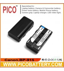 Canon BP-915 BP-914 BP-911 Li-Ion Rechargeable Camcorder Battery BY PICO