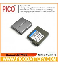 Canon BP-406 BP-407 Li-Ion Rechargeable Camcorder Battery BY PICO