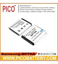 SAMSUNG BP-70A EA-BP70A IA-BP70A Li-Ion Rechargeable Battery for Samsung Cameras BY PICO