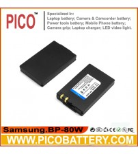 Samsung IA-BP80W IA-BP80WA Li-Ion Rechargeable Camcorder Battery BY PICO