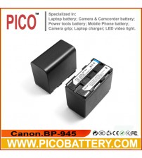 Canon BP945 BP-941 Li-Ion Rechargeable Camcorder Battery BY PICO