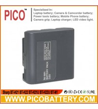 Sharp BT-H21 BT-H22 BT-H21U BT-H22U BT-N1 Ni-MH Rechargeable Camcorder Battery BY PICO