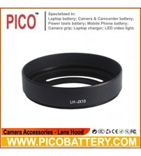 Black Lens Hood for Fuji FujiFilm FinePix X10 X-10 LH-X10 BY PICO