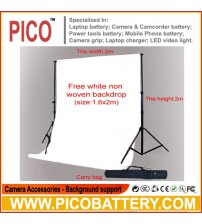 Black White Two Backdrops Photo Studio 2*2m Background for studio indoor photo BY PICO
