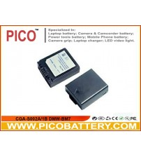 CGA-S002A/1B DMW-BM7 Li-Ion Rechargeable Battery for Panasonic Digital Cameras BY PICO