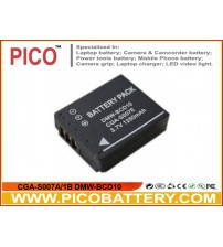 CGA-S007A/1B DMW-BCD10 Li-Ion Rechargeable Digital Camera Battery for Panasonic Lumix DMC-TZ1 DMC-TZ2 DMC-TZ3 DMC-TZ4 DMC-TZ5 DMC-TZ50 DMC-TZ11 DMC-TZ15 BY PICO