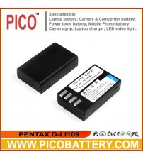 D-LI109 Li-Ion Rechargeable Battery for Pentax K-50, K-30, and K-r DSLR Cameras BY PICO