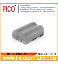 EN-EL3E Battery for Nikon D90, D80, D300, D300s, D700, D200, D70, D50, D70s, D100 Cameras BY PICO