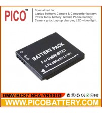 DMW-BCK7 NCA-YN101G Li-Ion Rechargeable Digital Camera Battery for Panasonic Lumix Digital Cameras BY PICO