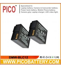 DMW-BLC12 Li-Ion Rechargeable Battery for Panasonic Lumix FZ1000, FZ200, G5, G6, and GH2 Cameras BY PICO