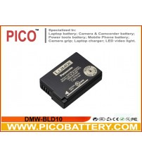 Panasonic DMW-BLD10 Li-Ion Rechargeable Replacement Battery for Lumix DMC-GX1 DMC-GF2 DMC-G3 Digital Cameras BY PICO