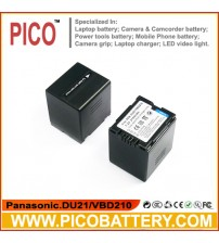 Panasonic CGA-DU21A/1B VW-VBD210 Li-Ion Rechargeable Camcorder Battery BY PICO