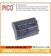 NIKON EN-EL18 Li-Ion Rechargeable Battery for Nikon D4 and D4s DSLR Cameras BY PICO