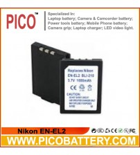 Nikon EN-EL2 Li-Ion Rechargeable Digital Camera Battery BY PICO