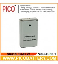 NIKON  EN-EL22 Li-Ion Rechargeable Battery for Nikon 1 J4 and S2 Advanced Cameras BY PICO