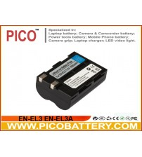 Nikon EN-EL3 EN-EL3A Li-Ion Rechargeable Digital Camera Battery BY PICO