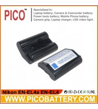 Nikon EN-EL4a EN-EL4 Li-Ion Rechargeable Digital Camera Battery BY PICO
