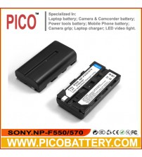 SONY NP-F550 NP-F570 L Series Li-Ion Rechargeable Battery for Sony Cameras and Camcorders BY PICO